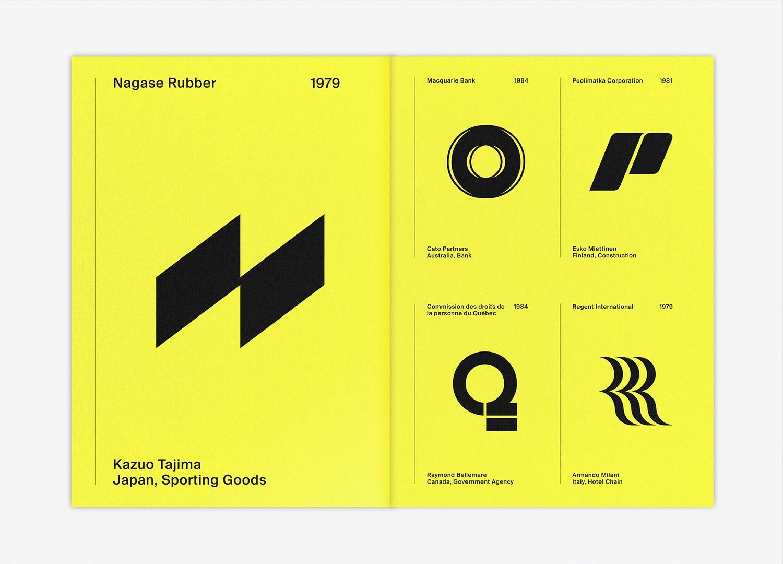 LogoArchive Letters as symbols 11–Logo Spread