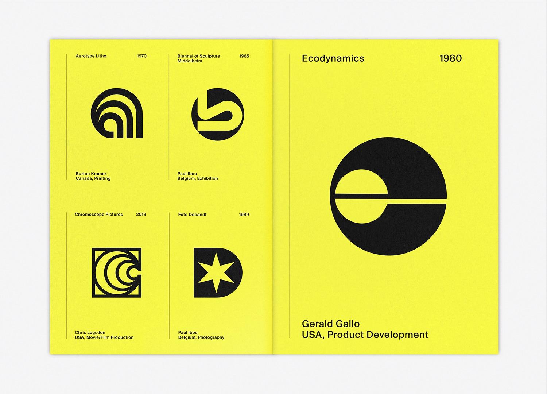 LogoArchive Letters as symbols 4–Logo Spread