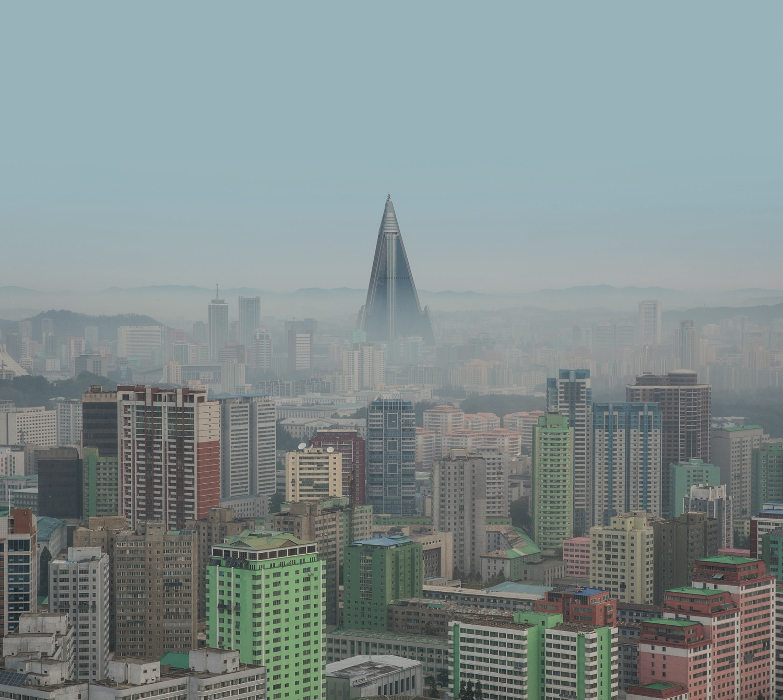 Model City Pyongyang 117 cityscape