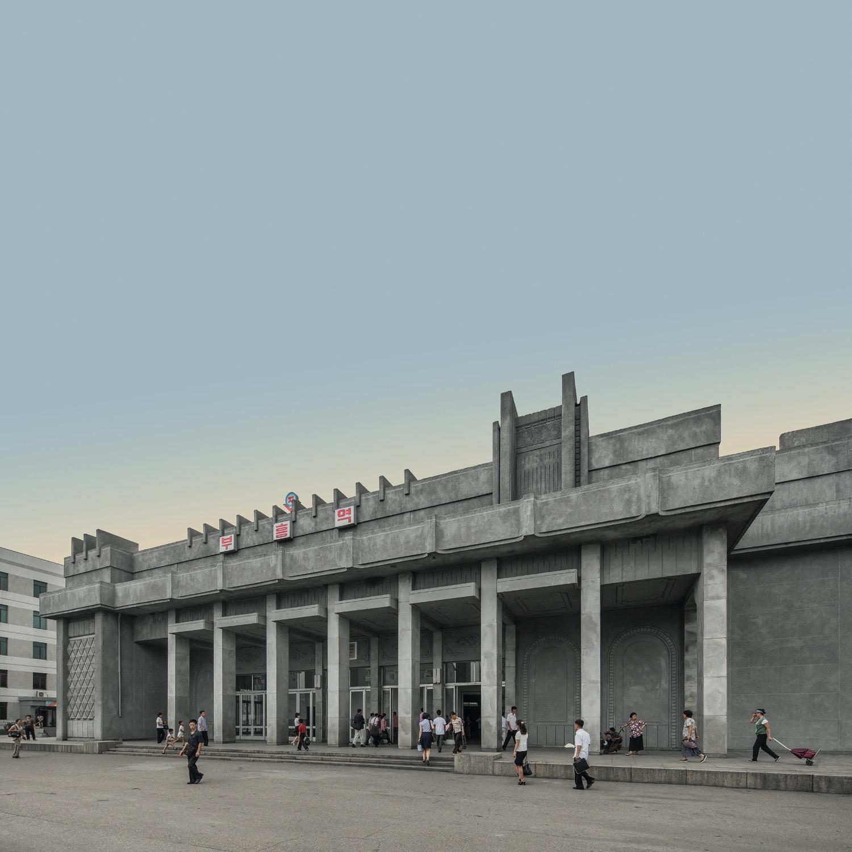 Model City Pyongyang 168 Puhung Station