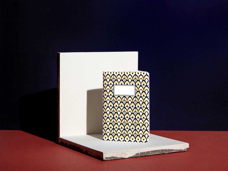 affinites collection stationnery carnet coco forgetmenot beauregard tiles paris