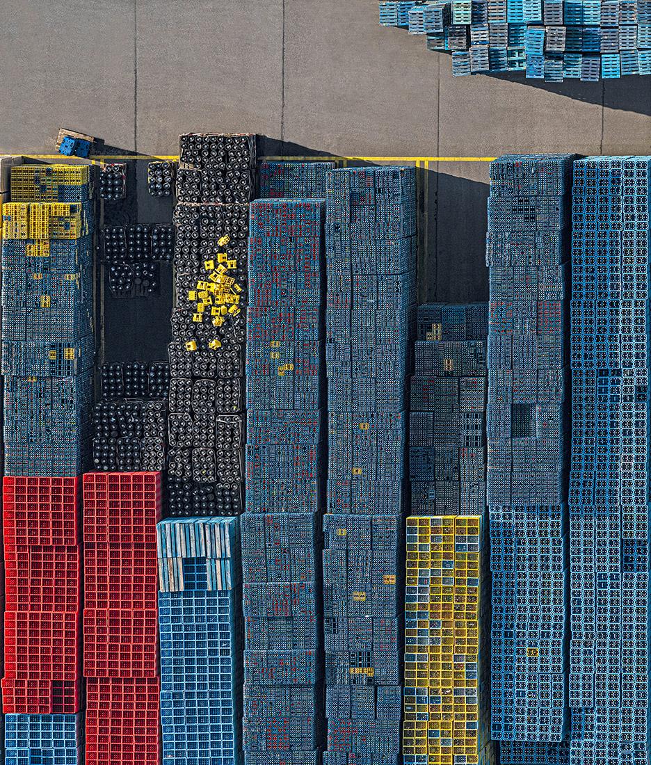 Bernhard Lang crate stacks 1