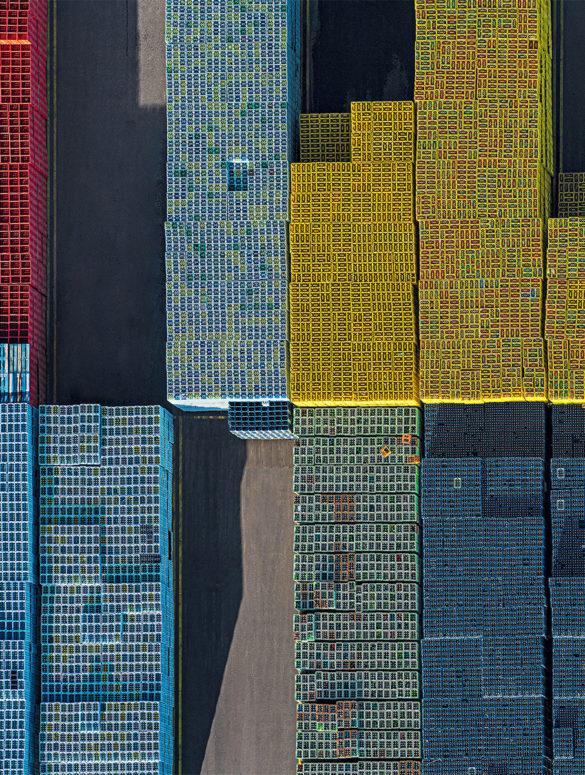 Bernhard Lang crate stacks 3