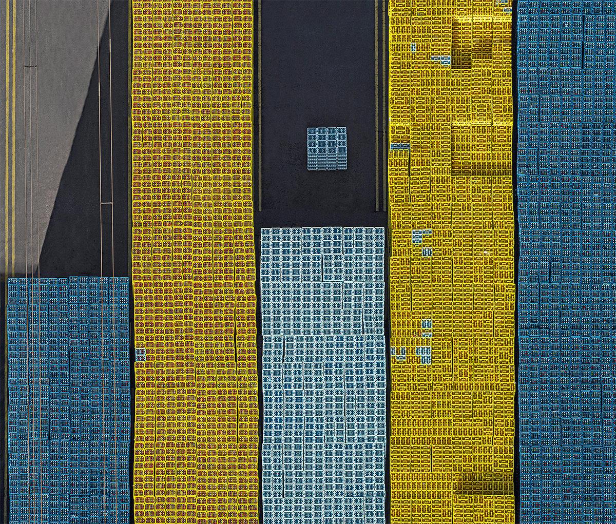 Bernhard Lang crate stacks 5