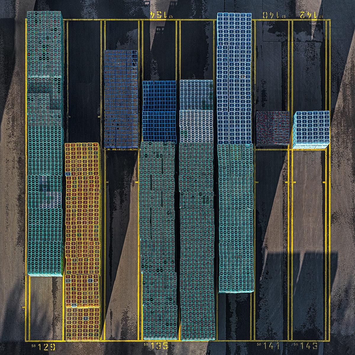 Bernhard Lang crate stacks 6