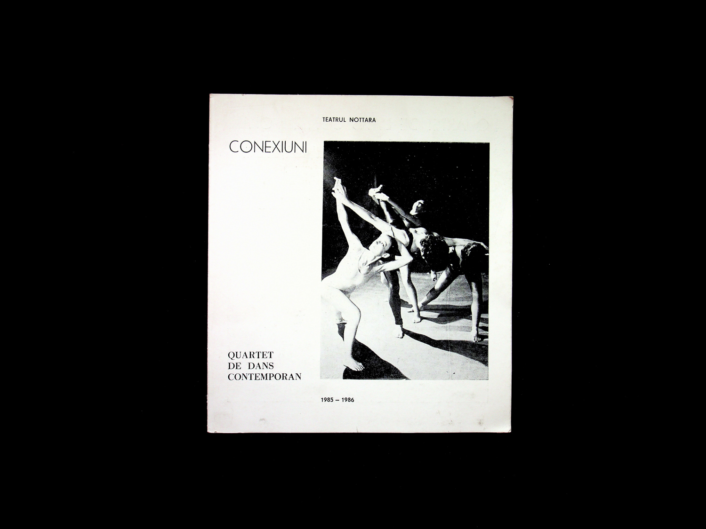 Catalogue Connections 1983 contemporary dance