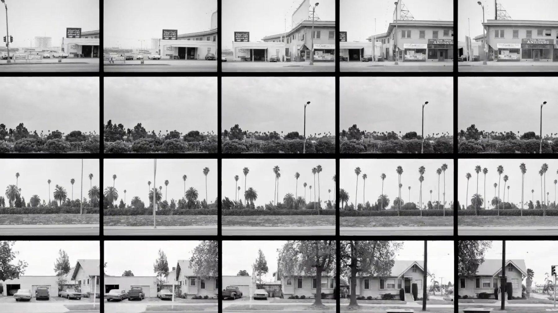 Ed Ruscha Motorized Photographs Of Sunset Blvd 6