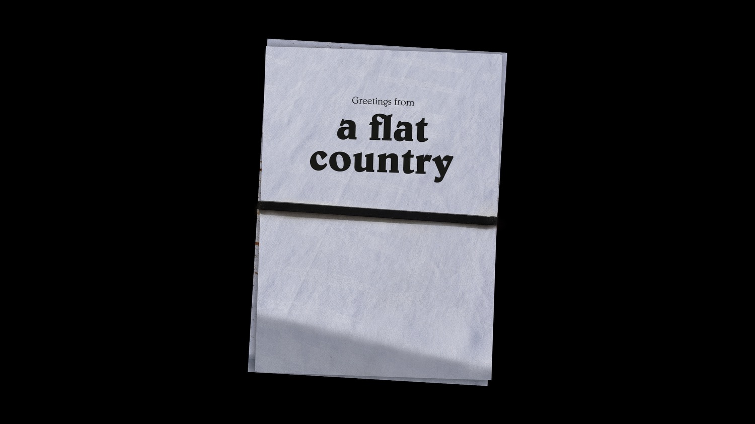 Stephanie Luscher greetings from a flat country 1