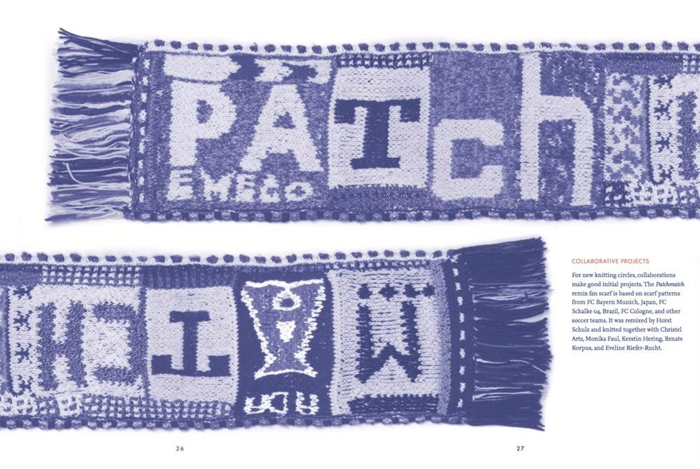 Typographic Knitting  From Pixel to Pattern 3b