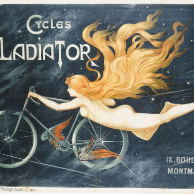 image c b  monogramme cycles gladiator 18 boulevard montmartre aff1298 460268