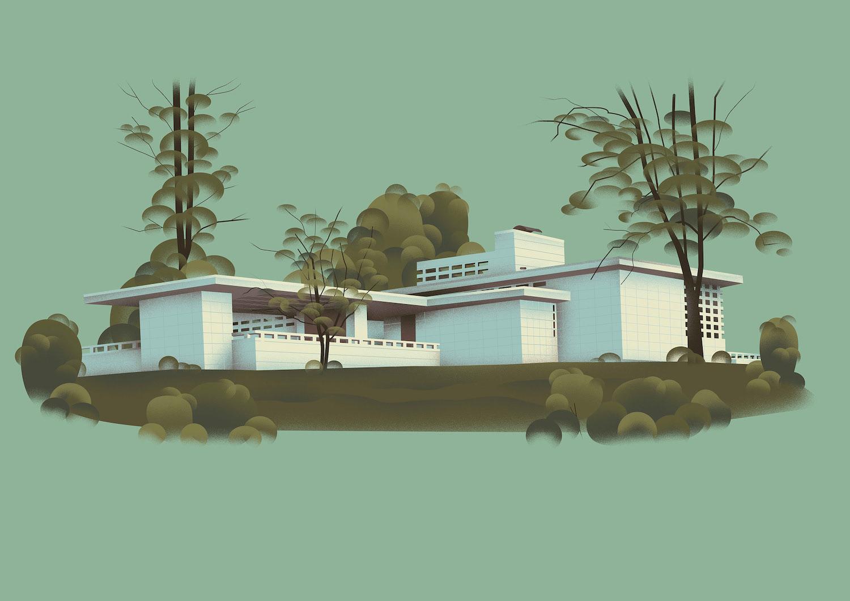 the United States of Frank Lloyd Wright 4