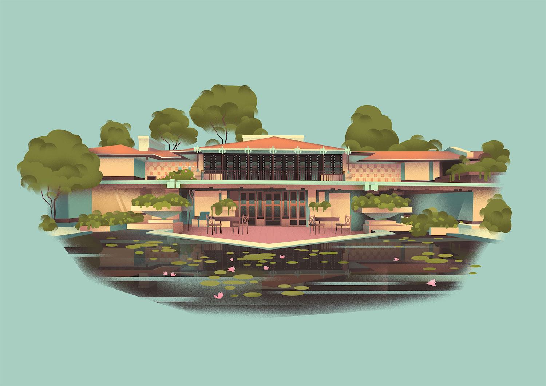 the United States of Frank Lloyd Wright 9