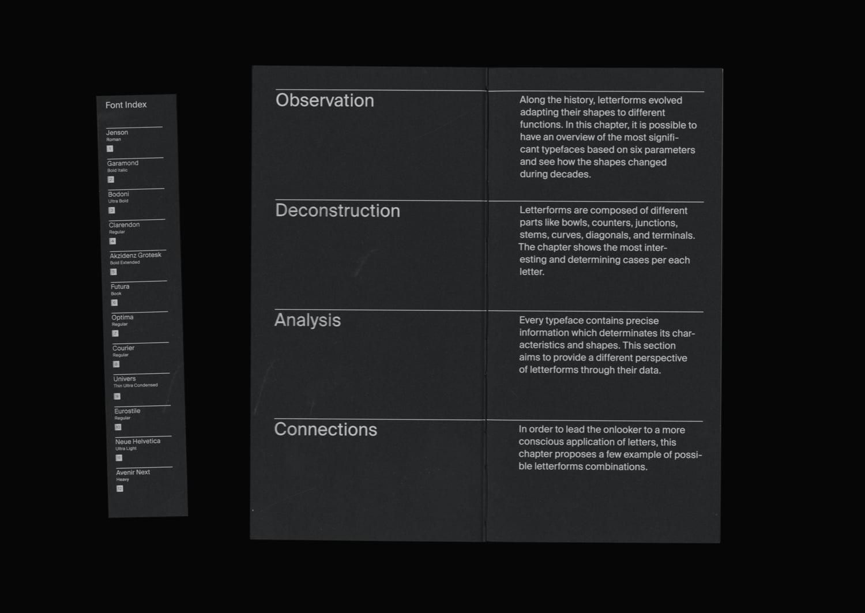 An Atlas about Letterforms Fabio Mario Rizzotti 01