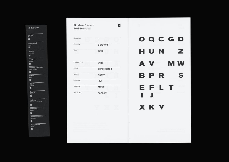 An Atlas about Letterforms Fabio Mario Rizzotti 02