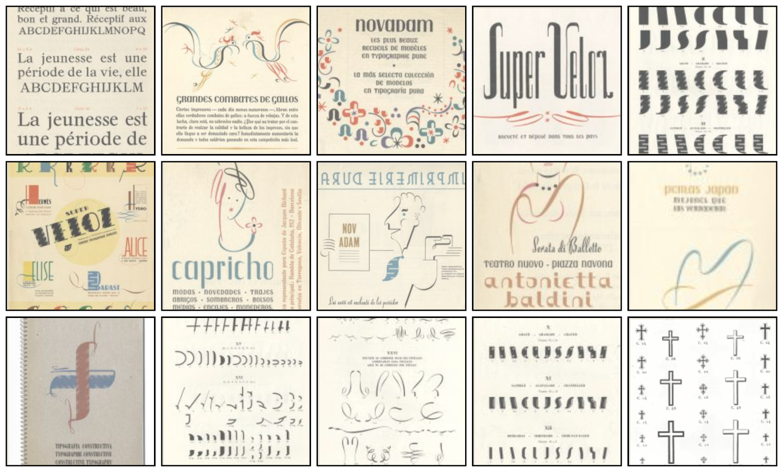 Corpus typographique francais 4
