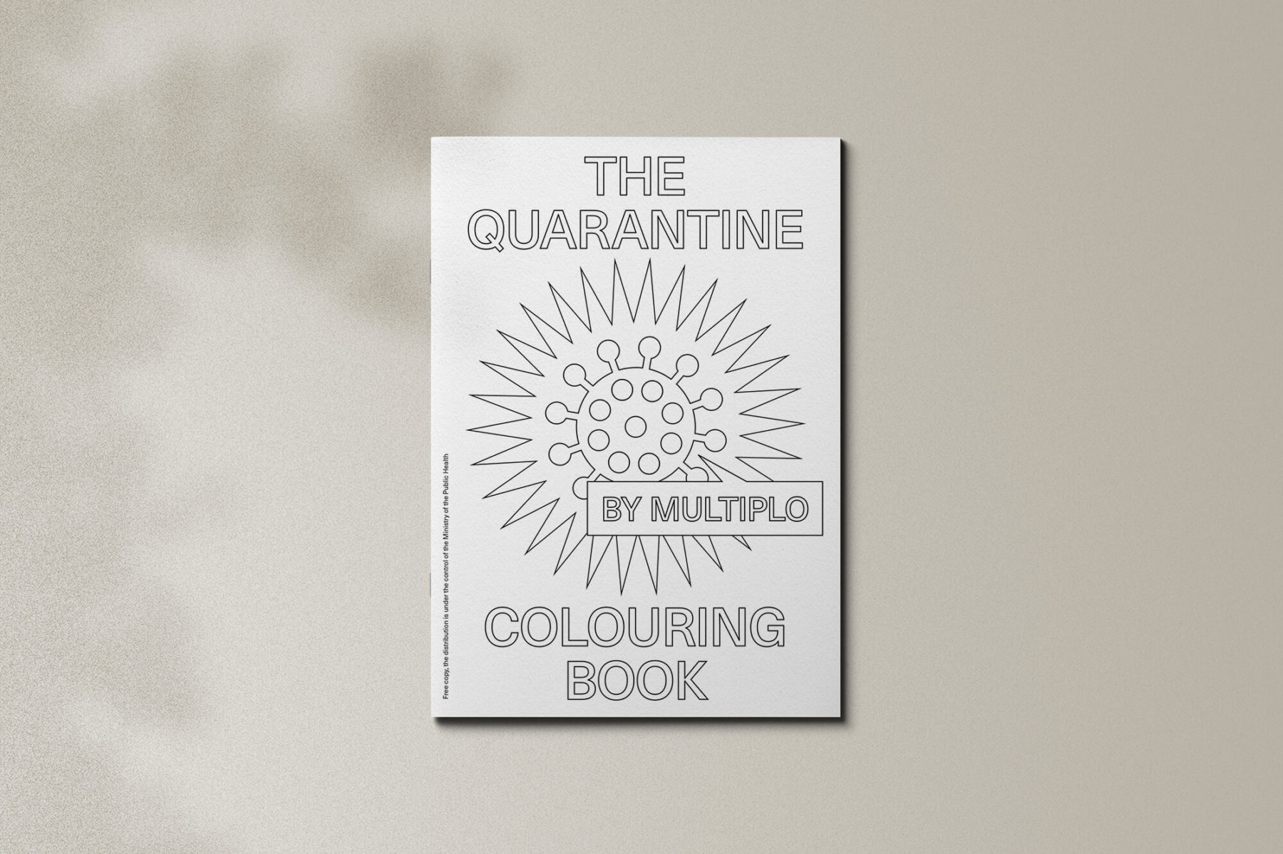 Covid Colouring Book 01