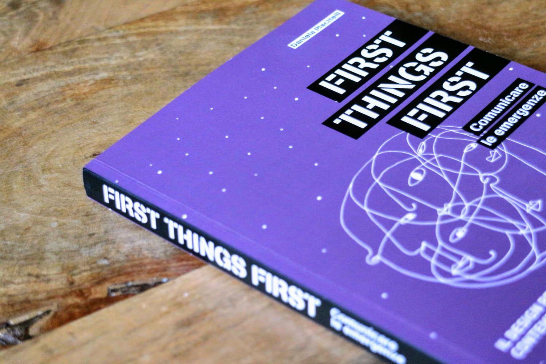 First Things First daniela piscitelli 2
