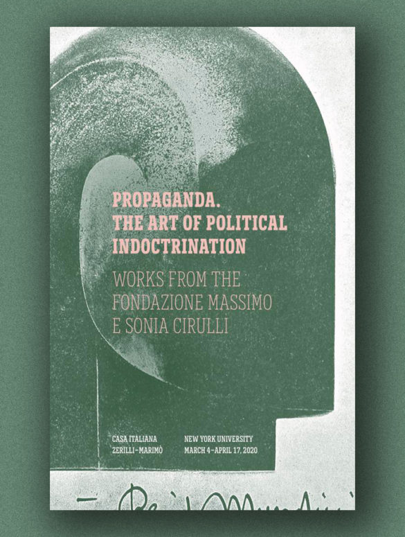 Propaganda The Art of Political Indoctrination cover