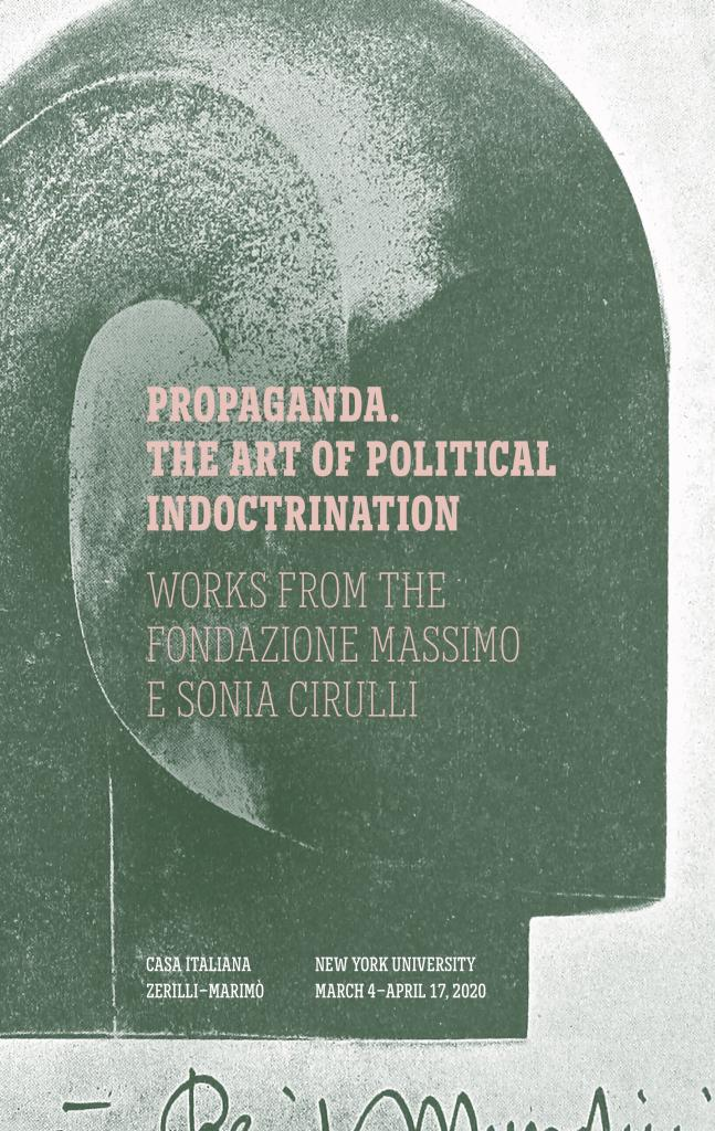 Propaganda The Art of Political Indoctrination manifesto
