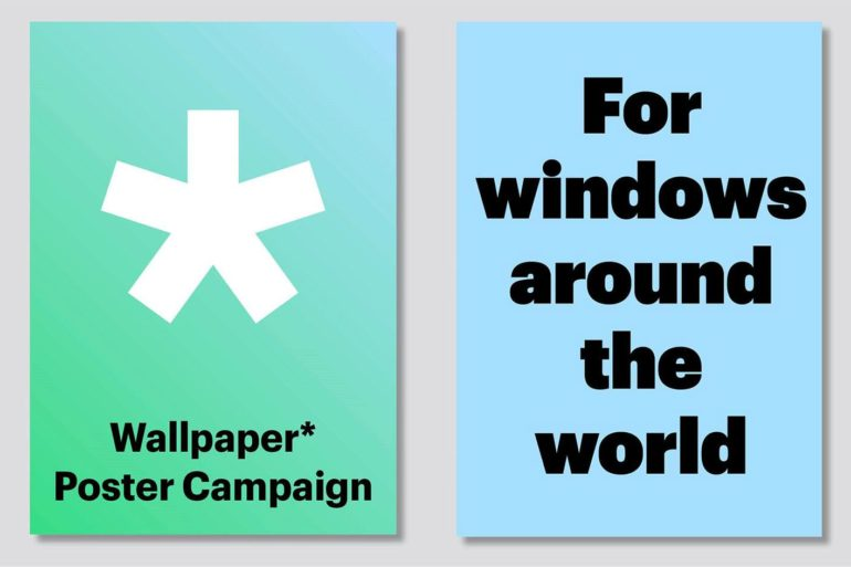 wallpaper poster campaign