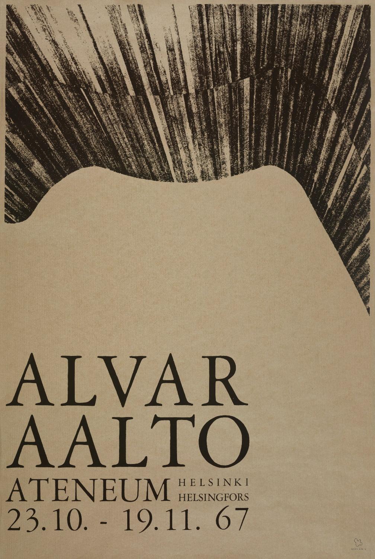 Poster Ateneum large copyright Alvar Aalto Foundation