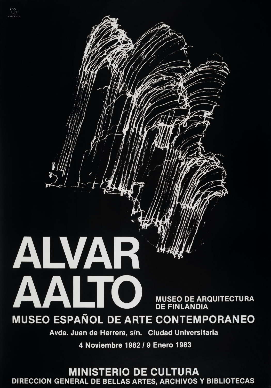Poster Museo espanol de arte contemporaneo copyright Alvar Aalto Foundation