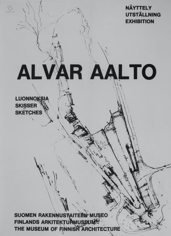 Poster Sketches copyright Alvar Aalto Foundation