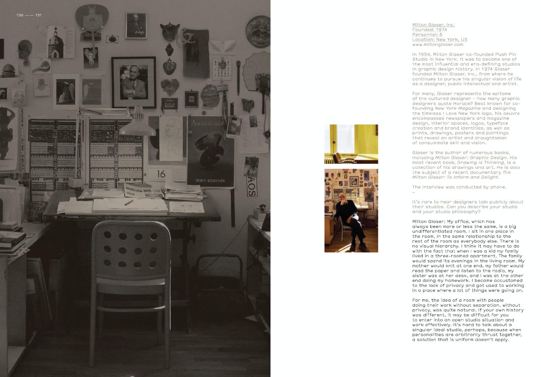 Studio Culture Milton Glaser