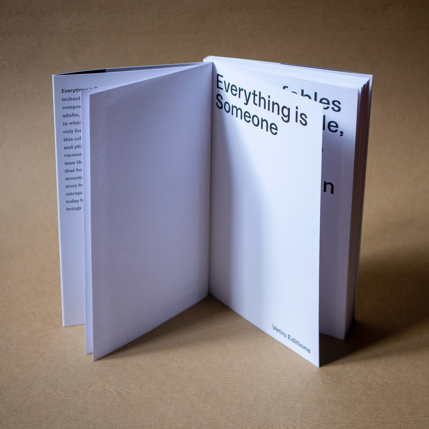 everything is someone vetro editions 6