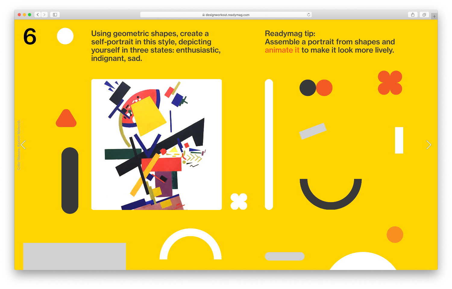readymag design workout 4