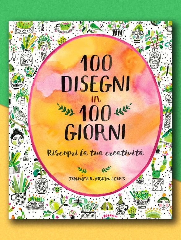 100 disegni 100 giorni cover