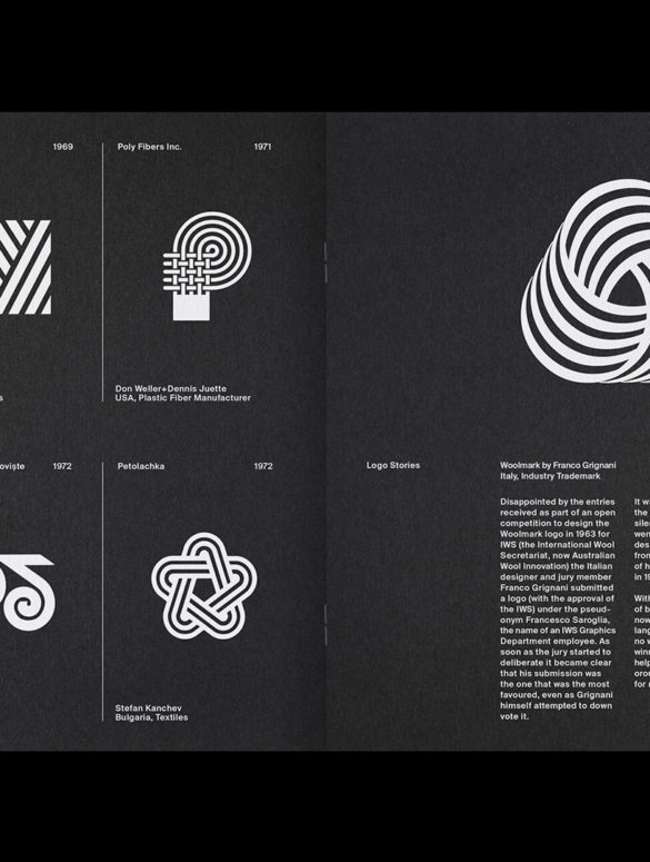 7 LogoArchive Issue 7 Textiles Mid Century Logo Zine BPO Richard Baird
