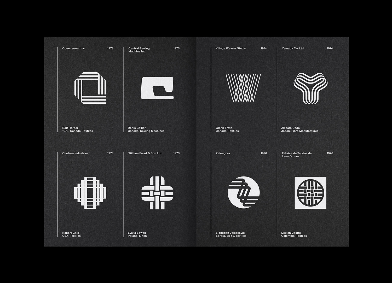 8 LogoArchive Issue 7 Textiles Mid Century Logo Zine BPO Richard Baird