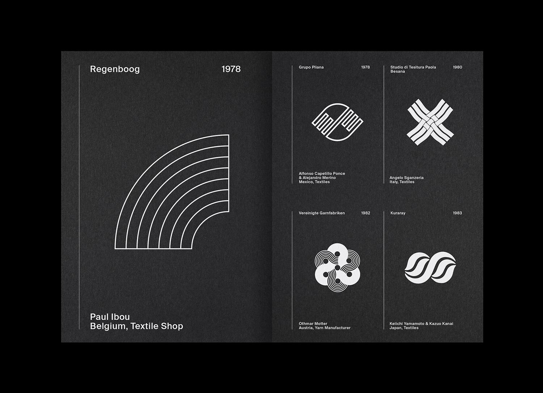 9 LogoArchive Issue 7 Textiles Mid Century Logo Zine BPO Richard Baird