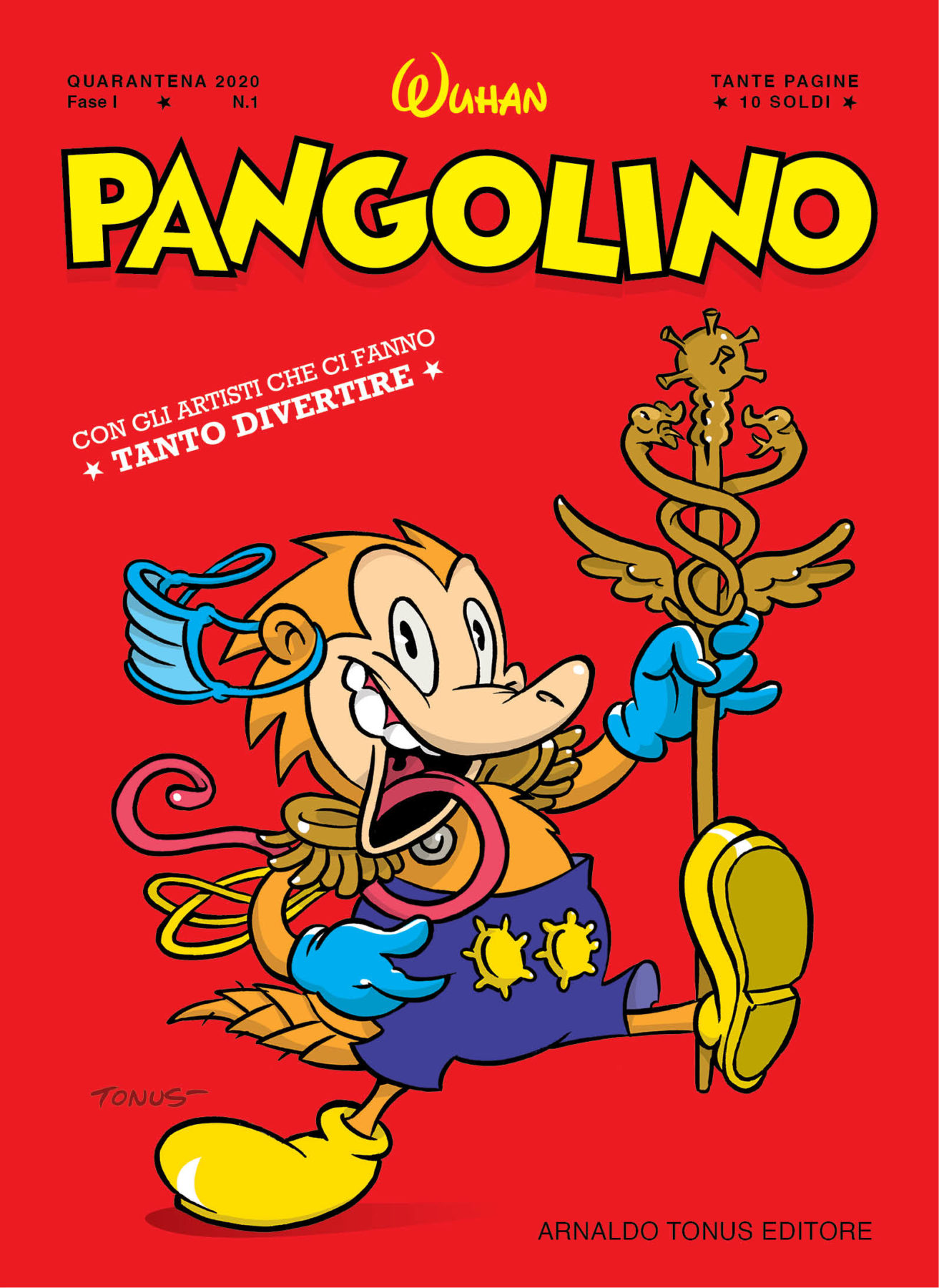 PANGOLINO 1 DI COPERTINA