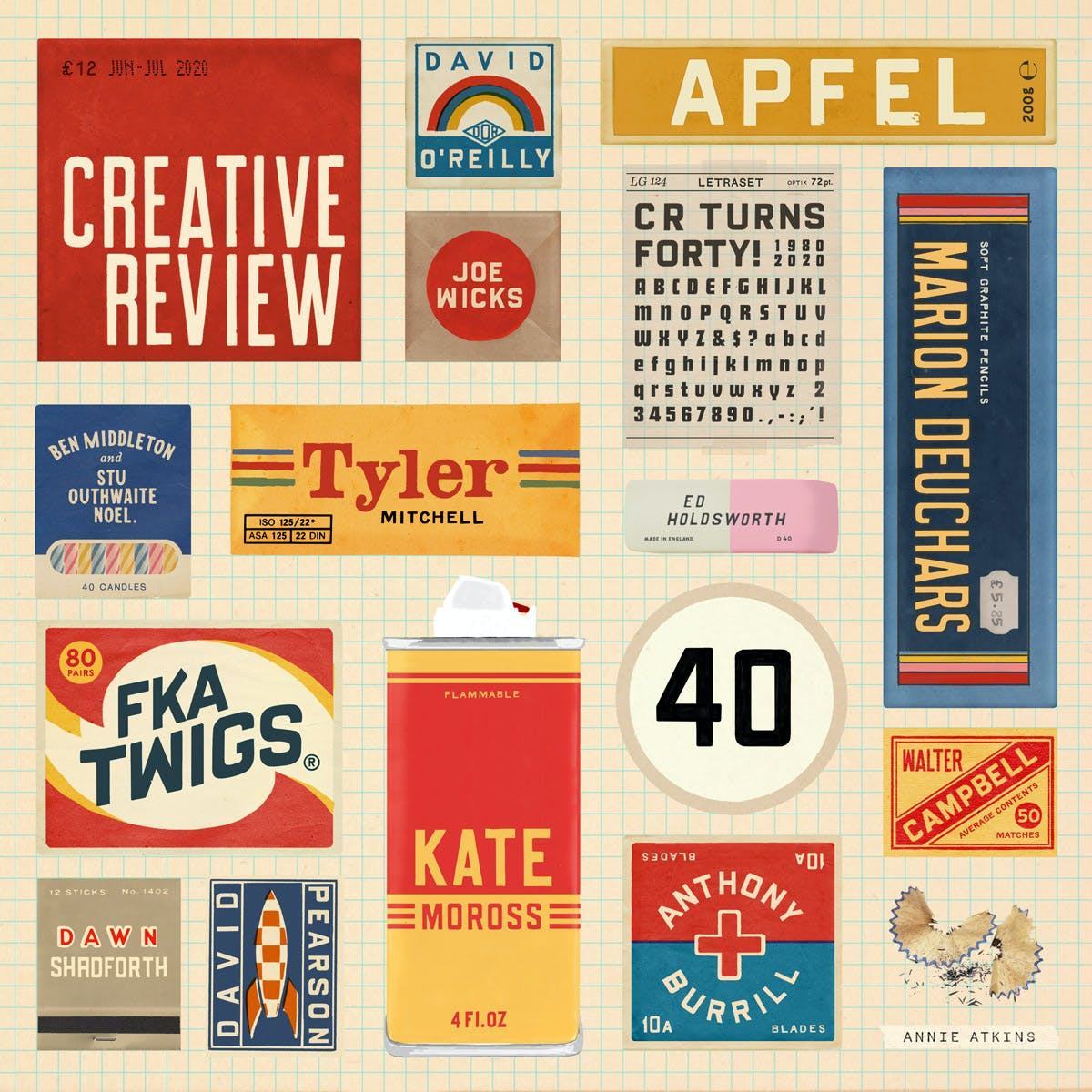 creative review 40years cover atkins