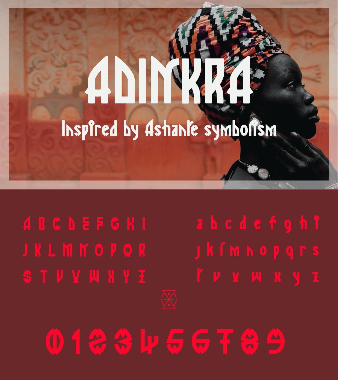 fontikon Adinkra total font