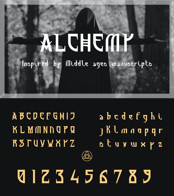 fontikon Alchemy total font