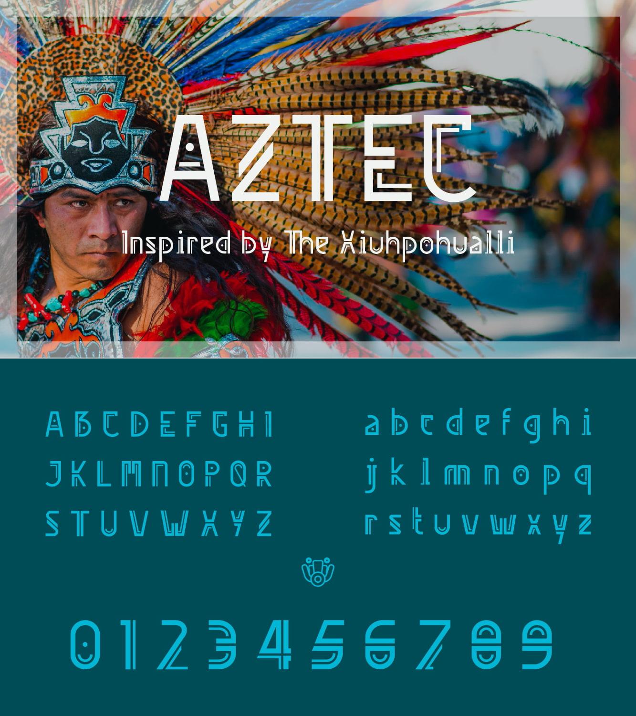 fontikon Aztec total font