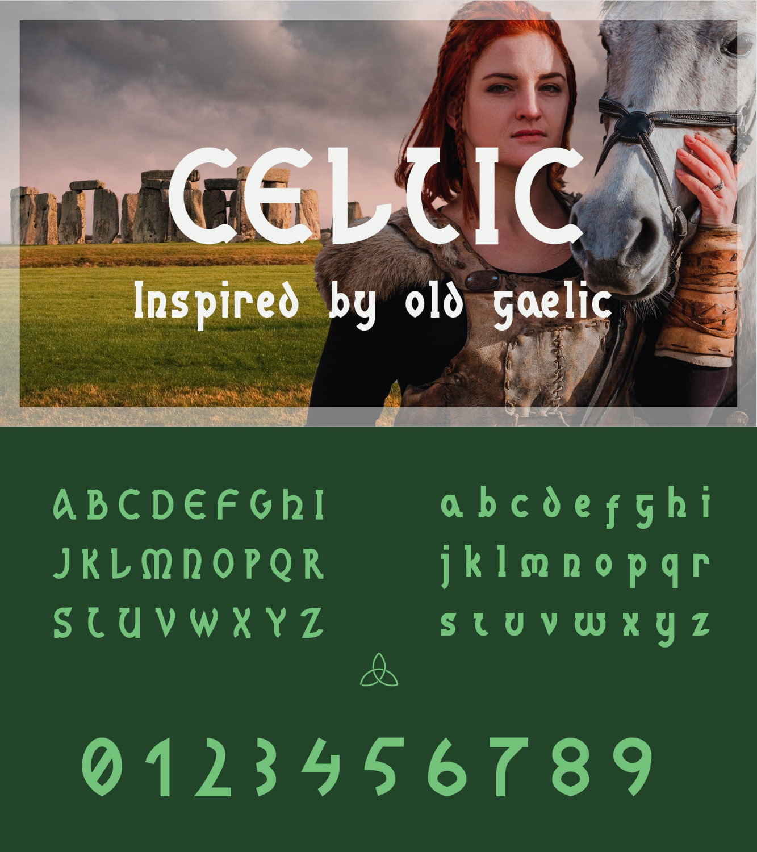 fontikon Celtic total font