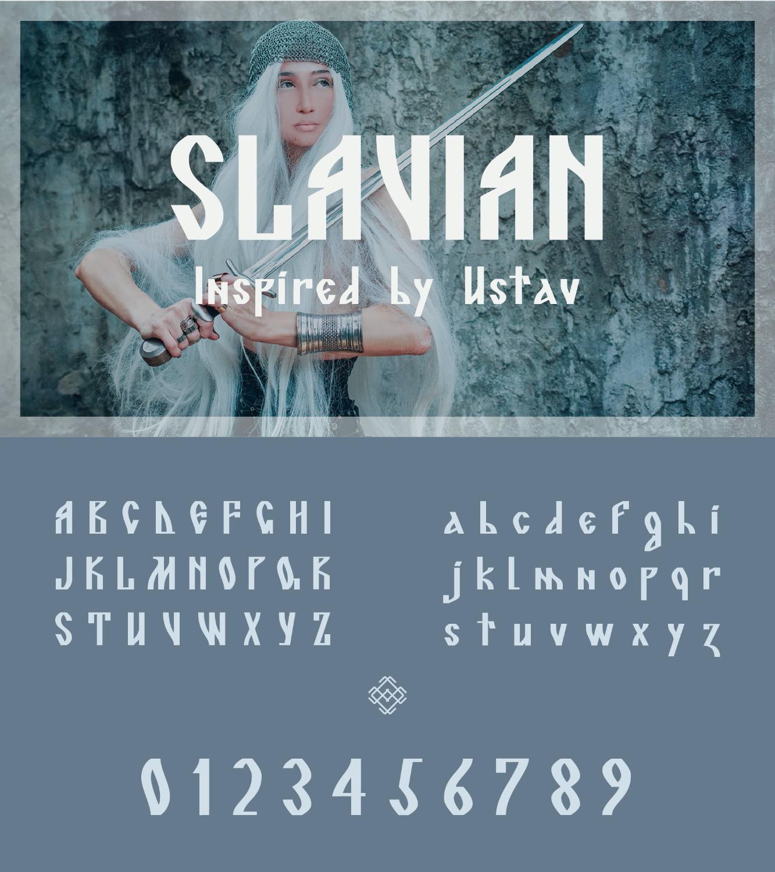 fontikon Slavian total font
