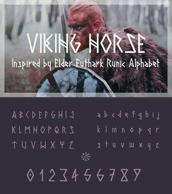 fontikon Viking total font