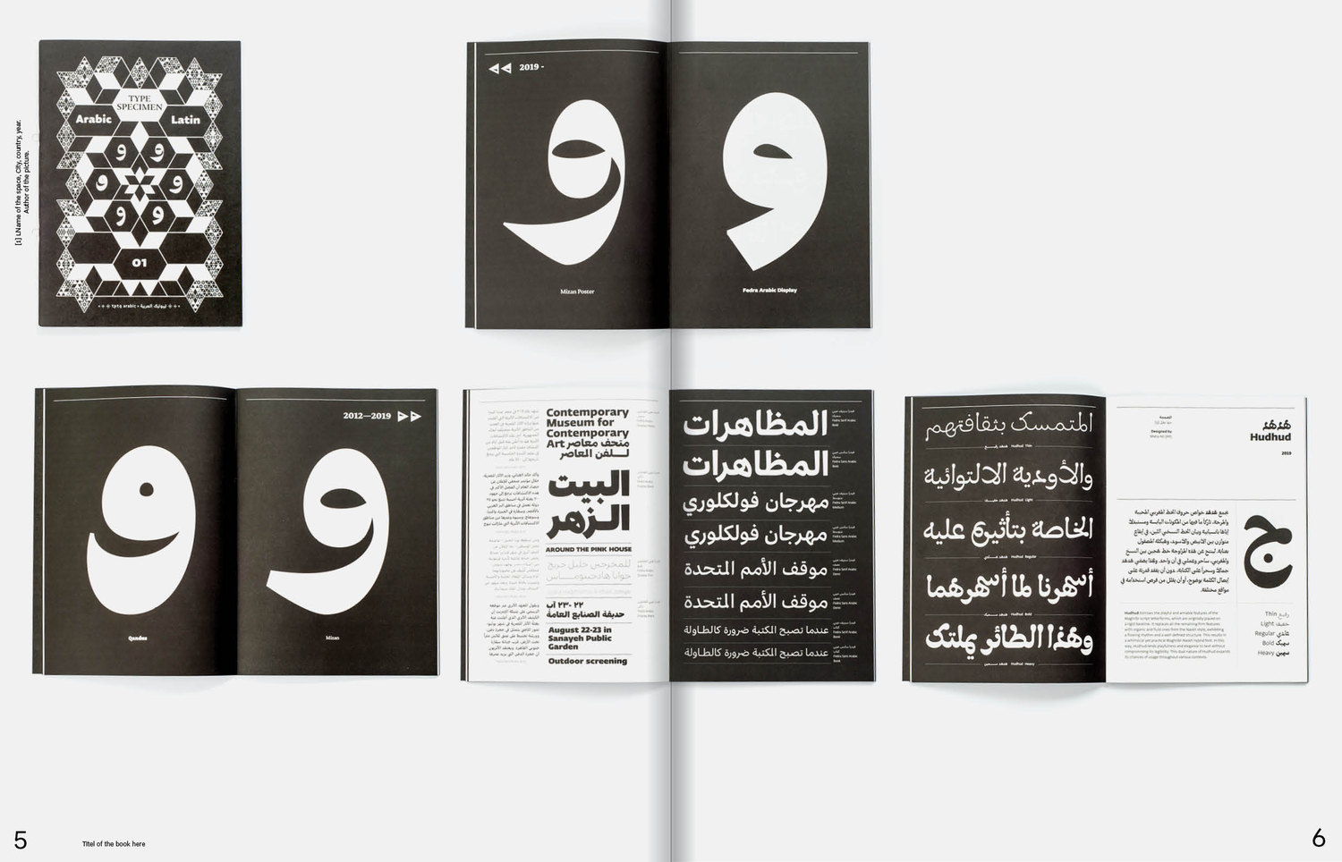 support idependent type Mockup Content Arabic risultato