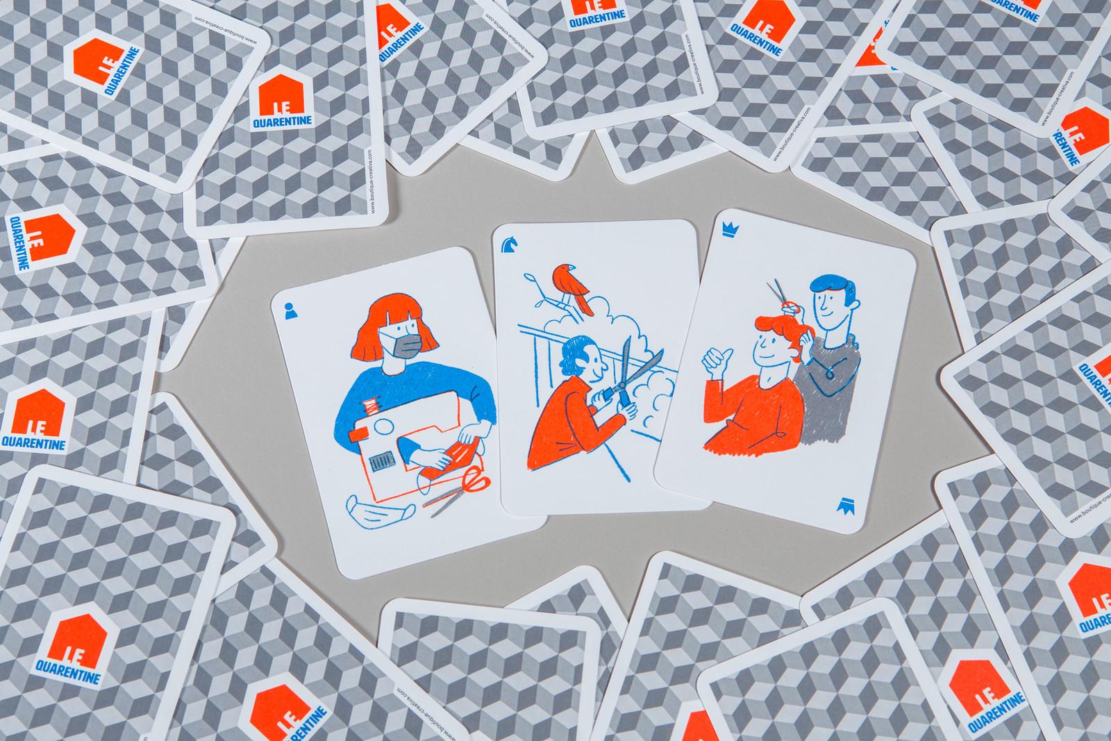LeQuarentine BoutiqueCreativa illustration2