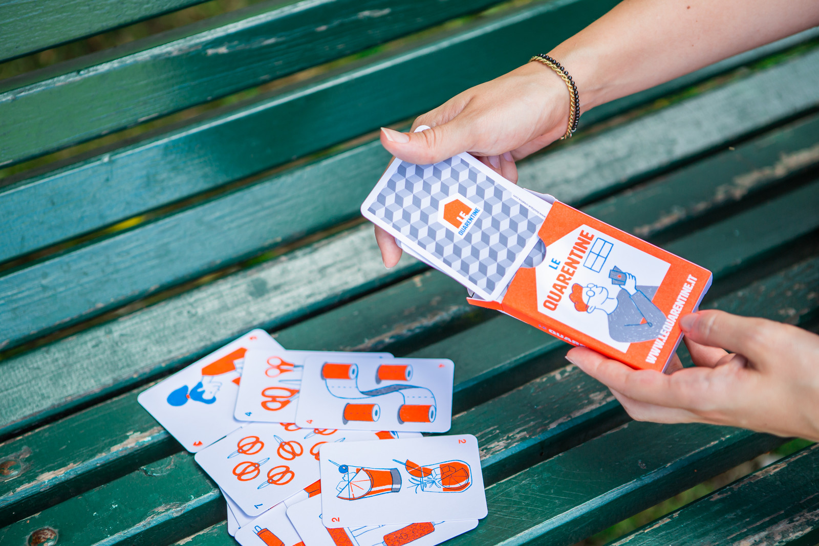 LeQuarentine BoutiqueCreativa playing cards2