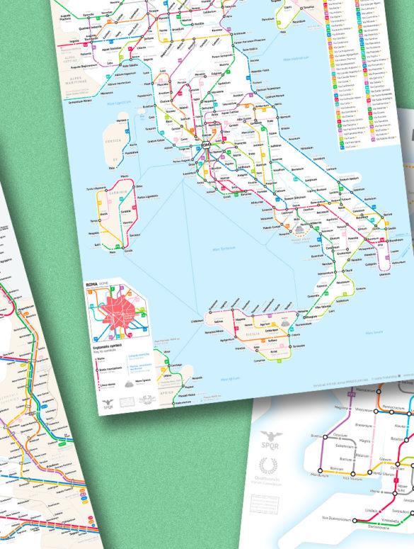 roman roads cover