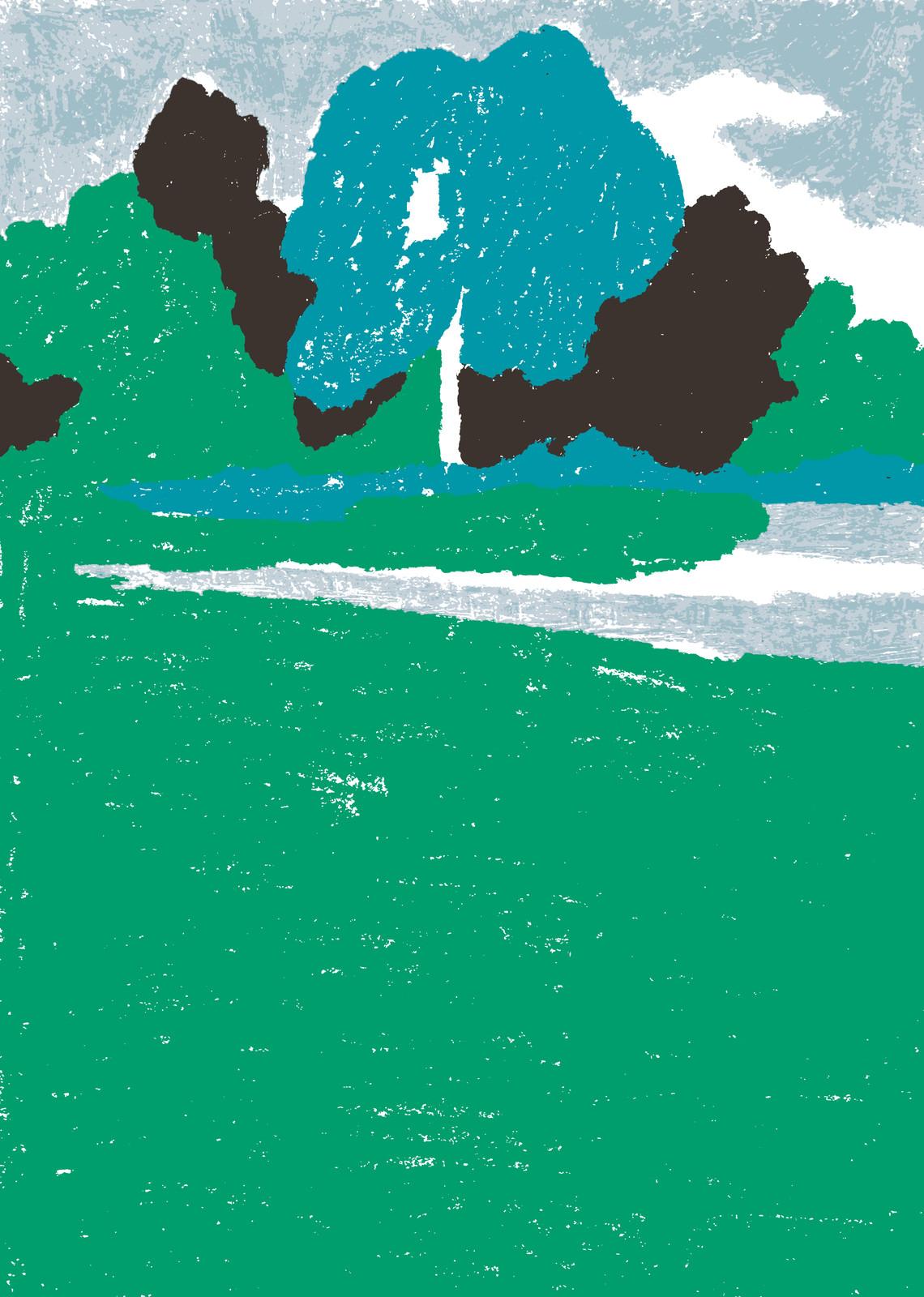 fallani venezia Charlotte Trounce Spazi Inverleith Park 2020 2020 serigrafia su carta Fedrigoni Arena