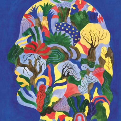 fallani venezia Elenia Beretta Spazi Pensieri  Thoughts 2020 serigrafia su carta Fedrigroni 300 gr 70x50 cm
