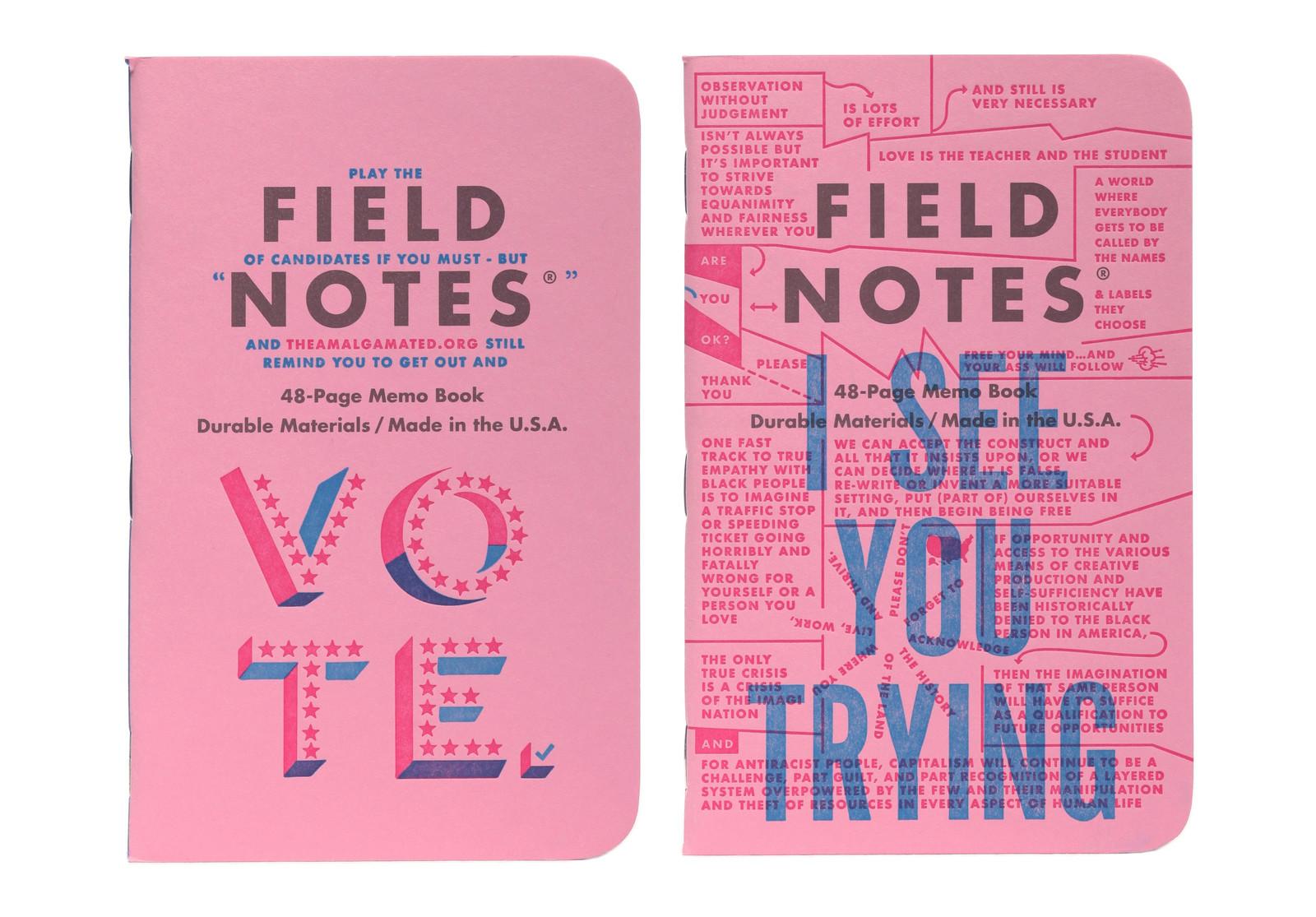 field notes letterpress 12