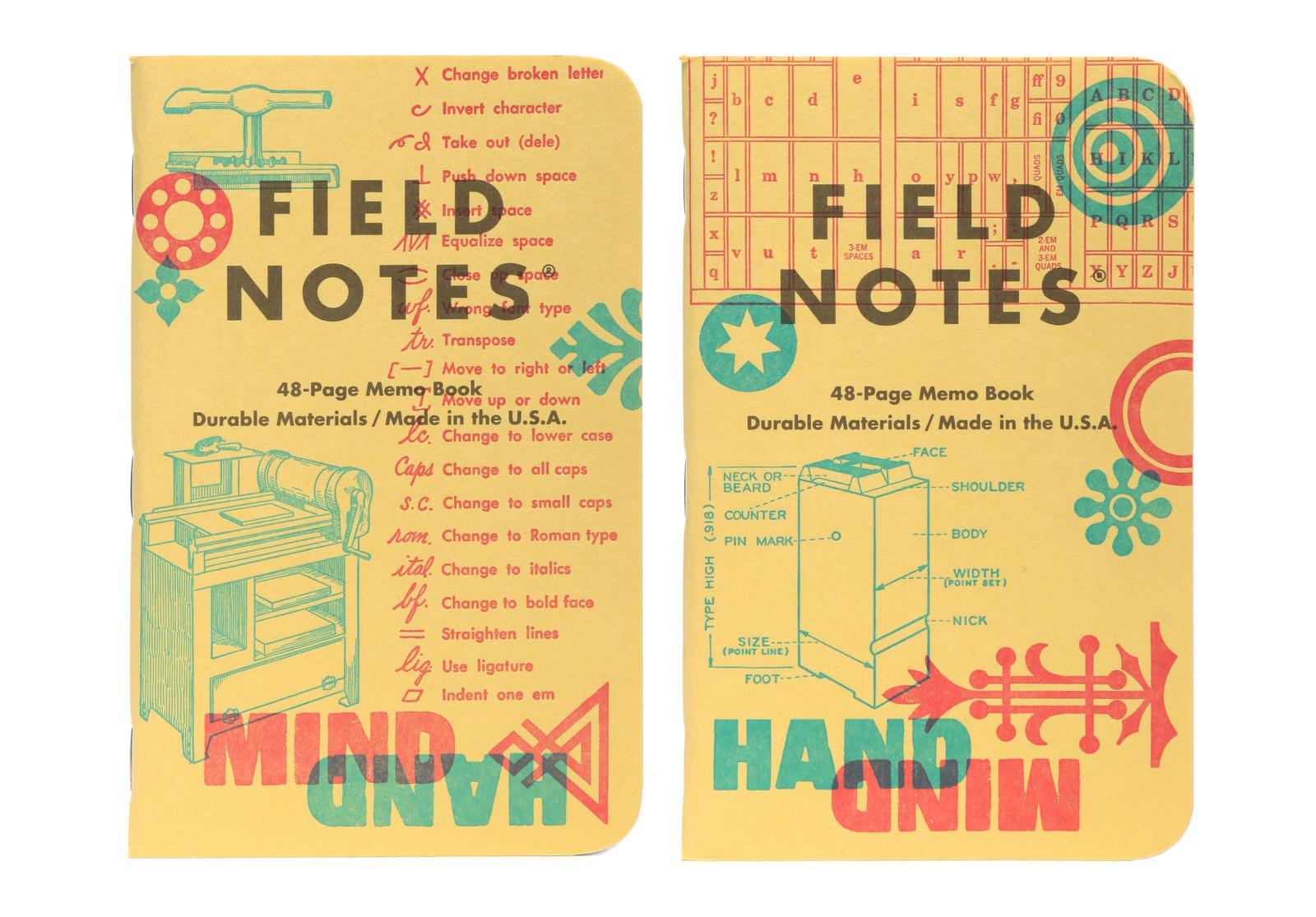 field notes letterpress 13